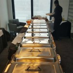 Hog Roast Catering Set Up At Senator