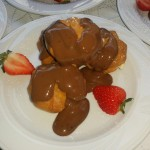 Delicious Chocolate Profiteroles