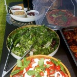 Home Made Salads and Vegetarian Quiche