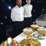 Hog Roast Staff Ready To Serve