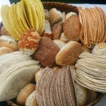 Selection of Bread Rolls and Wraps