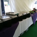 Set Up For An Indoor Catering Event