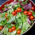 Fresh Homemade Salad