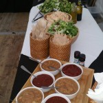 Our Homemade Sauces To Accompany The Hog